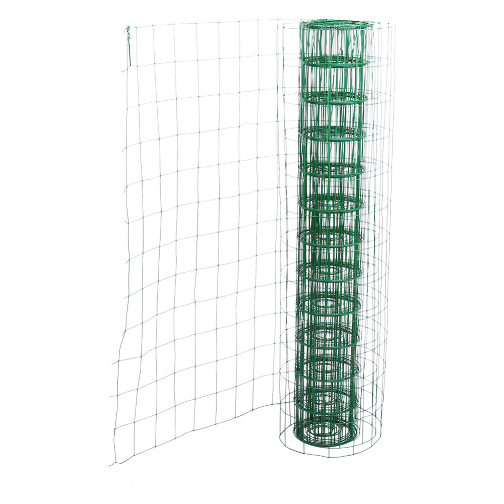 High quality garden fencing mesh promotion shop for high quality 102m length garden fence pvc coated metal wire fencing green mesh fence fencing wall outdoor decor baanklon Image collections