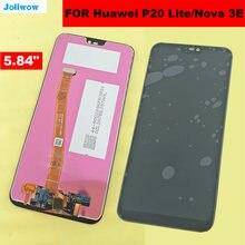 5.84 LCD For HUAWEI P20 Lite ANE-LX1 ANE-LX3 Nova 3e Lcd Display+Touch Screen Touch