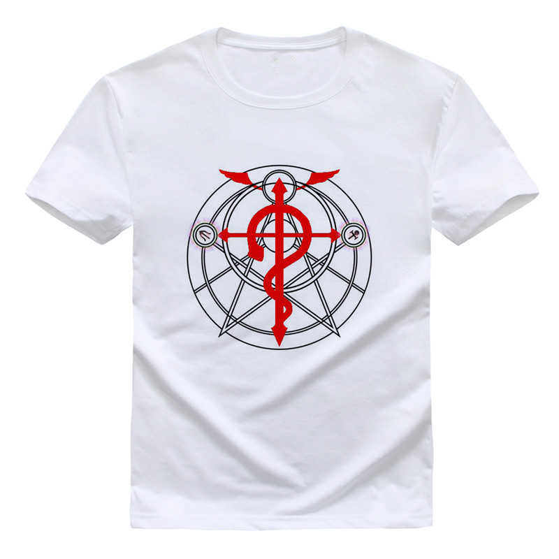 ▻Camisa de la historieta del anime fullmetal Alchemist Camisetas ...