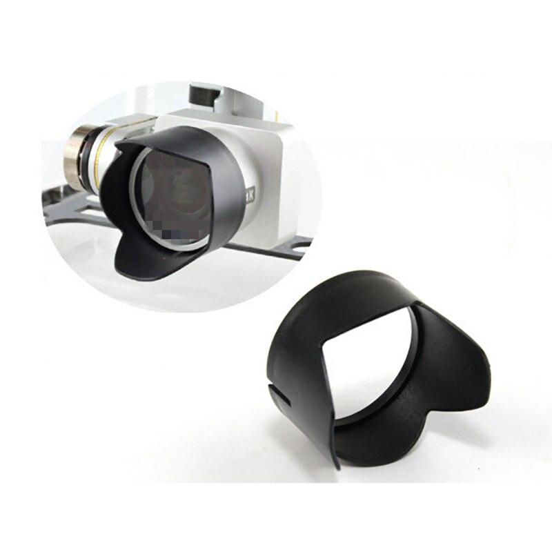 For DJI Phantom 3Standard Advanced Professional Gimbal Camera Lens Cap Cover Sun Hood Sunshade Protection Case For DJI Phantom 4
