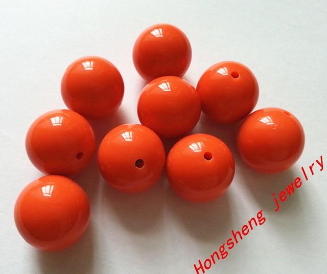 buy deep orange color 20mm 105pcs big