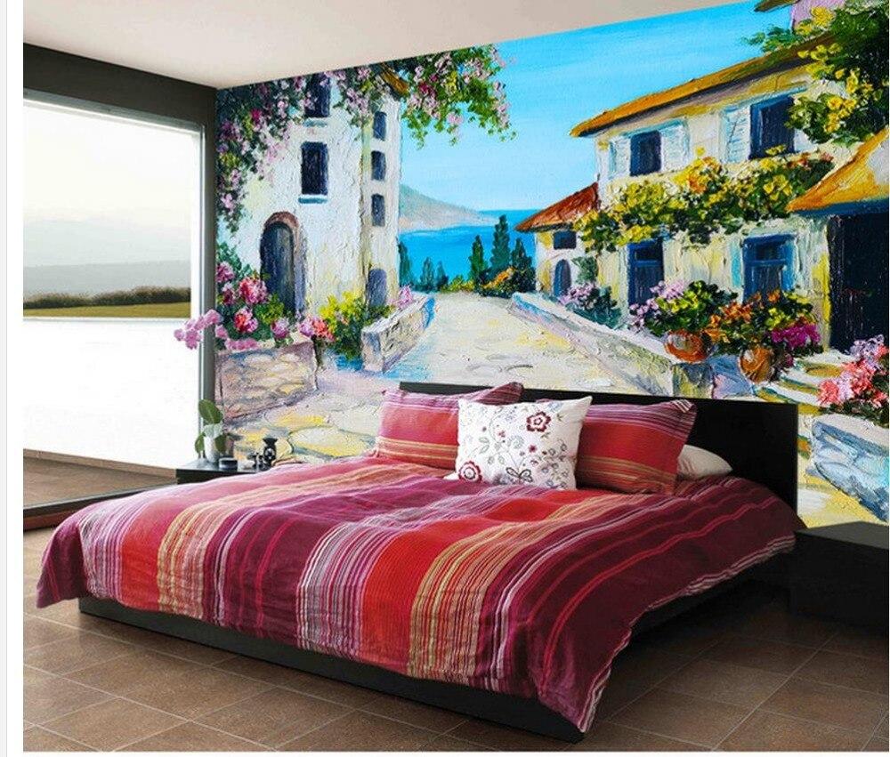 online shop hand-painted mediterranean stone slab garden cottage