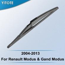YITOTE Задняя щетка стеклоочистителя для Renault Modus& Gand Modus 2004 2005 2006 2007 2008 2009 2010 2011 2012 2013