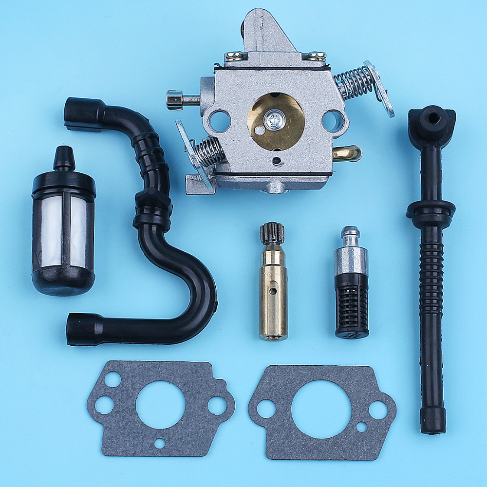5*Luftfilter Kit für Stihl 017 018 MS170 MS180 Kettensäge Teile 1130 124 0800 WH