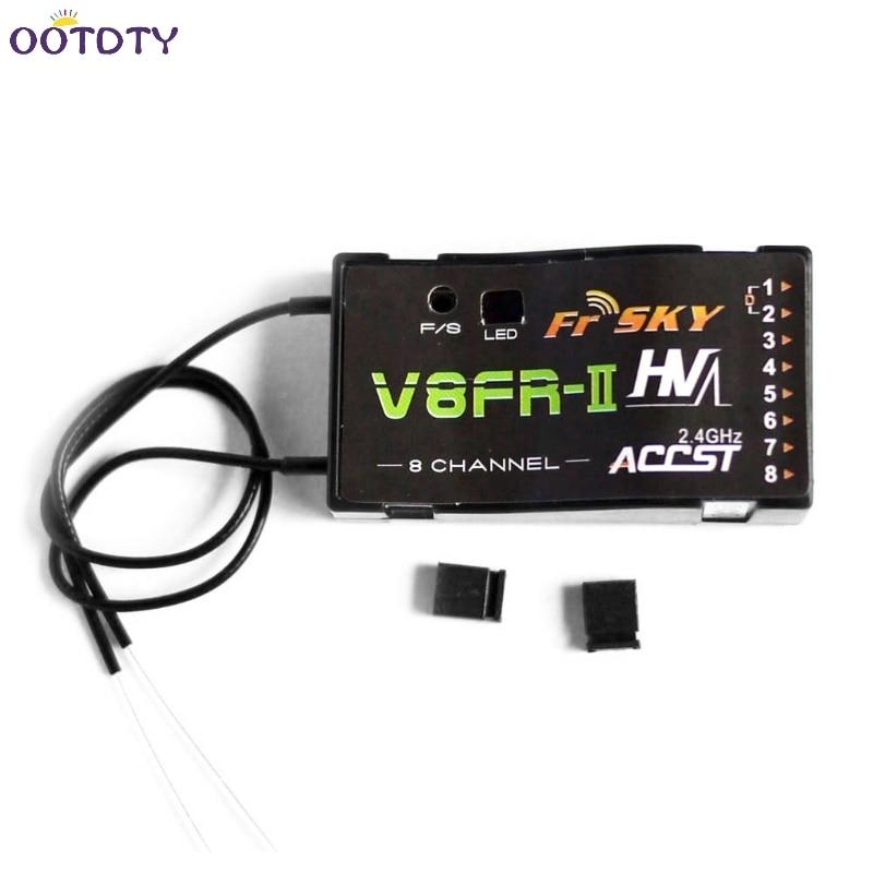 FrSky V8FR-II 2.4G 8CH Receiver HV Version for Multi Rotor Parts Fr Sky ACCST RX литой диск replica fr lx98 8 5x20 5x150 d110 2 et54 cbmf