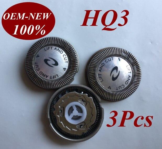 3Pcs HQ3 HQ4 HQ54 Replace head razor blade for Philips electric shaver HQ6900 HQ6920 HQ6940 HQ6970 HQ6990 HQ902 HQ904 HQ906