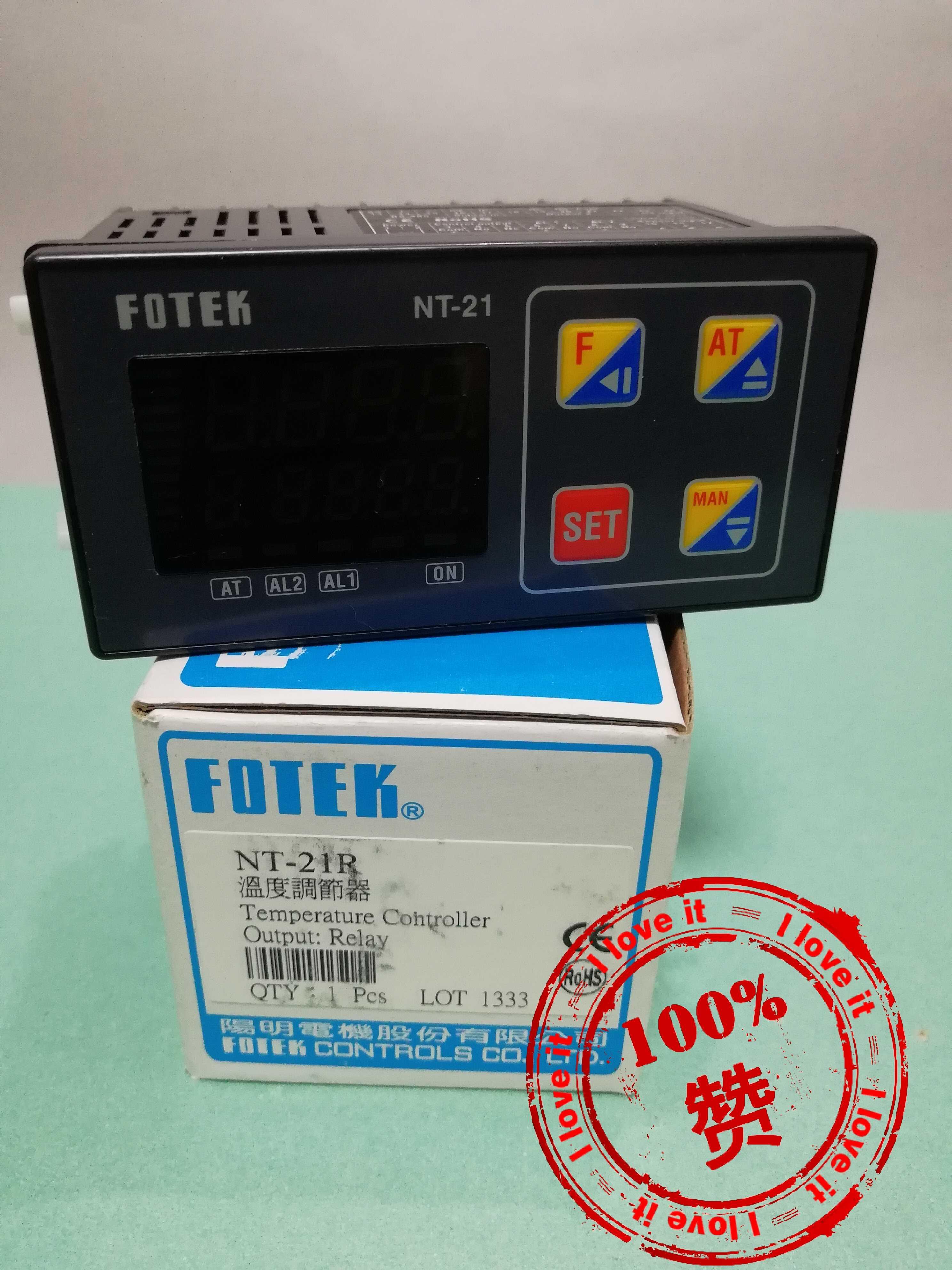 100% New Original Taiwan Yangming NT-21R Temperature Regulator NT-21-R