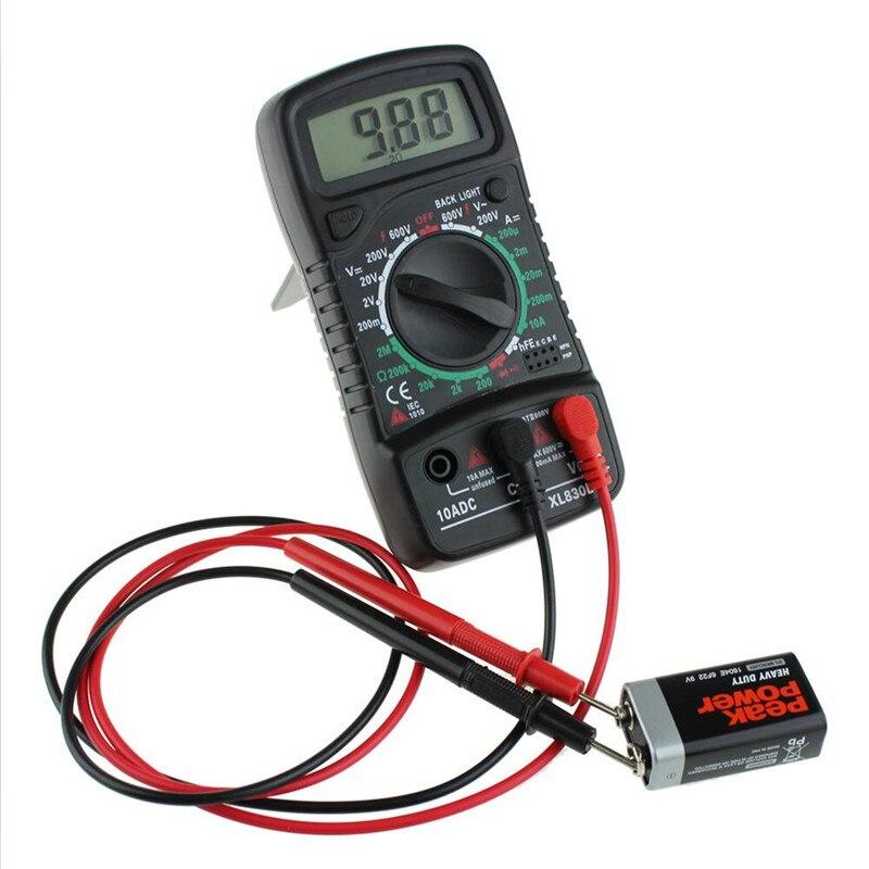 Digitális multiméter Voltmérő XL-830L LCD Multiméter Voltmérő - Mérőműszerek - Fénykép 6