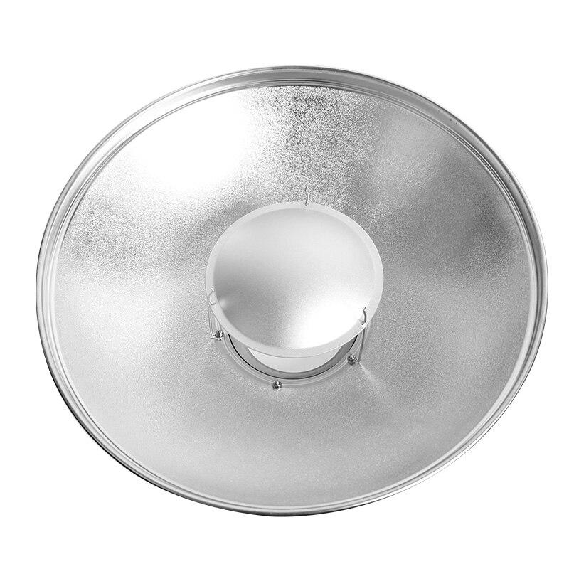 55 cm couverture Radar réfléchissante plat de beauté monture bowen ou monture elinchrom avec peigne à miel et couverture souple
