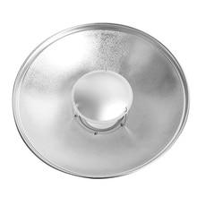 55 см, светоотражающие крышка радара beauty dish Боуэн крепление или Elinchrom крепление с медом гребень и мягкая обложка