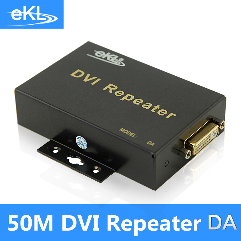 EKL Dvi signal amplifier extender repeater 50 meters long line driver hd