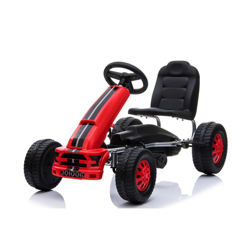 2019 New Pedal Go Kart 4 Wheels Push Bike For 3-8 Years Old Kids Ride On Toy Boys Girls Birthday Gifts Outdoor Activities go-kart