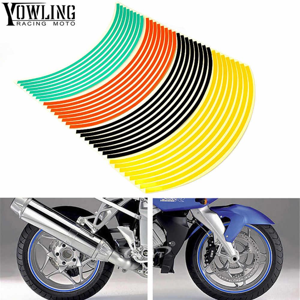 Для Honda CB1000R CB1100 CB600F CB600 CBR 300 650F 1000R красочные мото rcycles наклейки на колеса