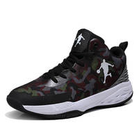 2019 New Style Breathable Basketball Shoes Mens Boys High Top Basket Homme Sneakers Non slip Jordan Basket Shoes Male Zapatillas