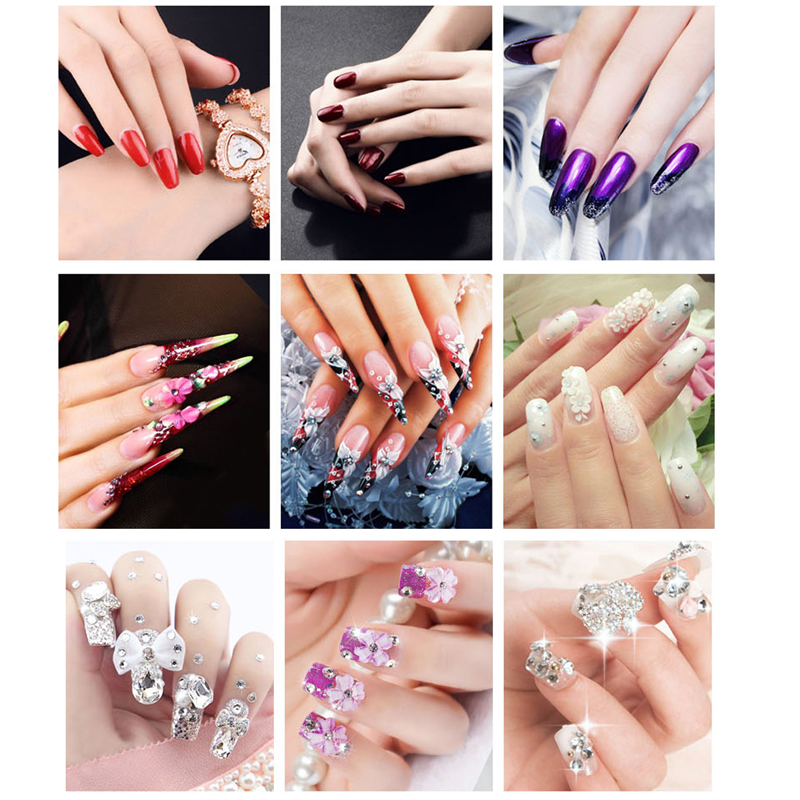 Verntion Uv Builder Gel Led L Dry Fast Soak Off Clear Nails Extension Glue Nail Art Varnishes Lucky In Hair Clips Pins From Beauty