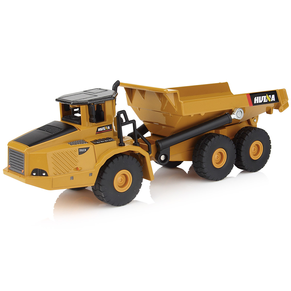 Hot Sale 1:50 Toy Vehicles Scale Alloy Excavator Dumper Engineering Metal Diecast Truck Car Funny Toy Boys Kids Birthday Gifts