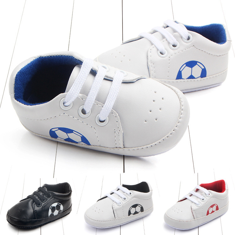 Foreign Trade Classic Baby Football Baby Shoe Baby Shoe Non Slip Study Walking Shoes 0 1 Year 2184