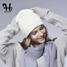 FURTALK unisex women's Spring Wool Watch Cap Spring Beanie Knitted Hat Skull Cap Women Wool Hat