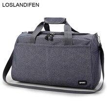 Женская Мужская нейлоновая сумка для путешествий, сумка для ручной клади, Мужская Большая вместительная сумка, спортивная сумка