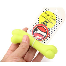 Pet Dog Toys TPR Non-Toxic Rubber Bone Style Puppy Dog Dental Teething Healthy Teeth Gums Chew Toys for Dogs