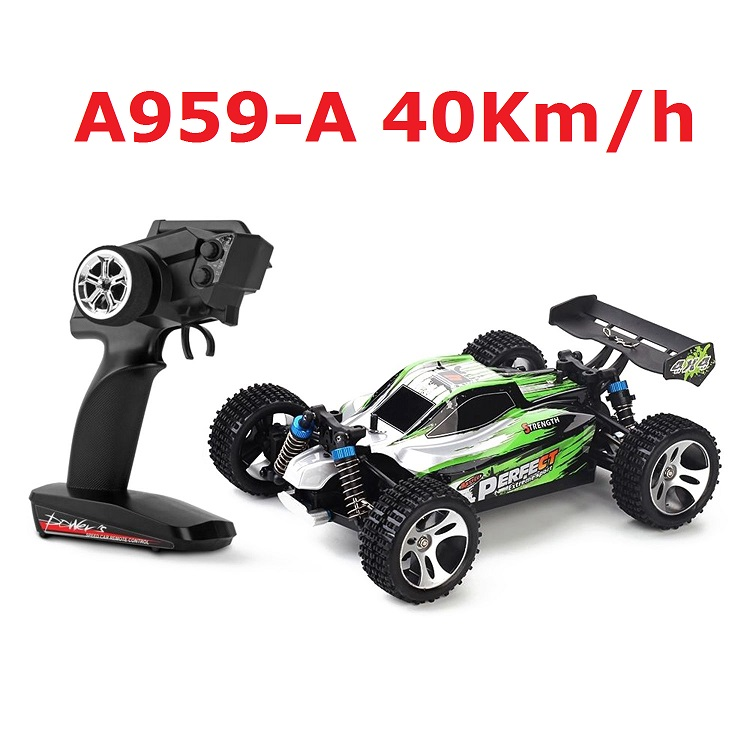 RC Car WLtoys A959-A 2.4G 1/18 Scale Remote Control Off-road RC Racing Car High Speed Stunt SUV Toy Boys Gift 40km/h VS A959-B