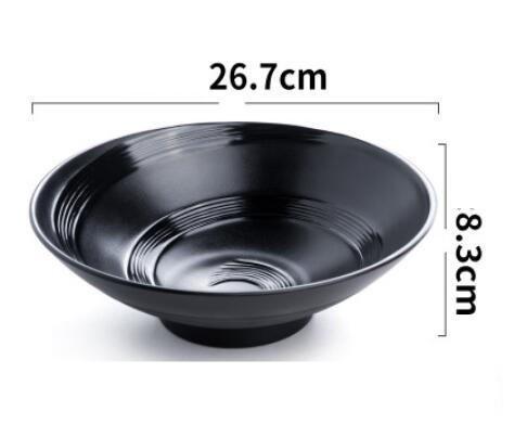 https://ae01.alicdn.com/kf/HTB1OHDWMgHqK1RjSZJnq6zNLpXaN/Japanese-Style-Melamine-Noodle-Bowl-Black-Imitation-Porcelain-Soup-Bowl-Sauce-Relish-Rice-Bowl-Hot-Pot.jpg_640x640.jpg