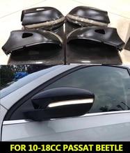 ل VW 10 18CC باسات B7 شيروكو 09 + MK3 ديناميكية مرآة مؤشر الوامض الجانب مصباح إشارة الانعطاف LED متتابعة EOS12 18 الخنفساء