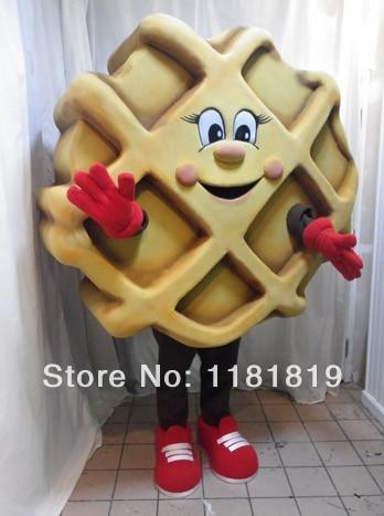 MASCOT Waffle JM Smucker mascot costume custom fancy