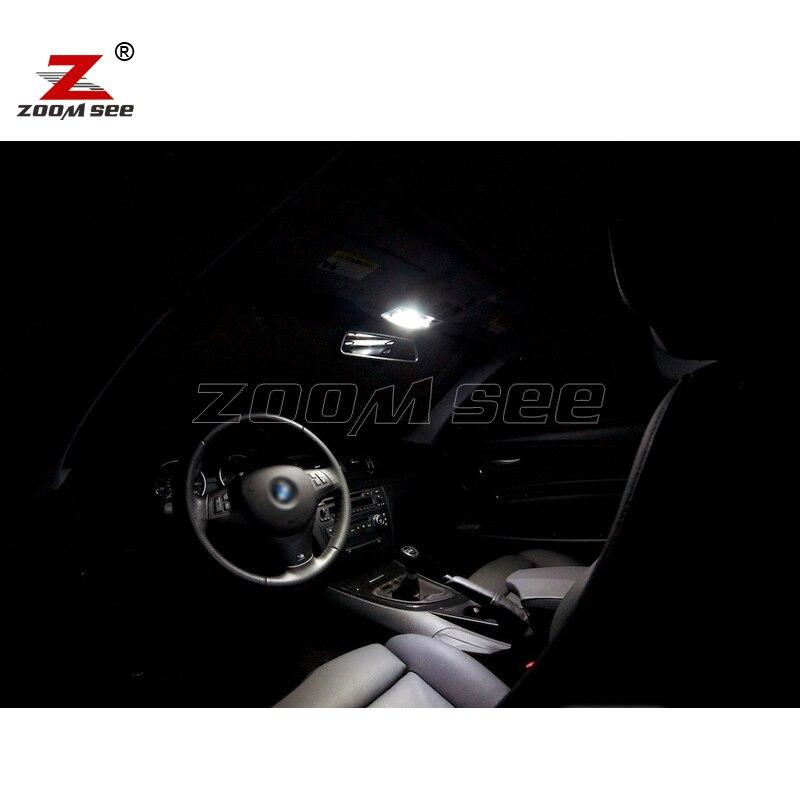 Идеальный ксеноновый белый Canbus без ошибок светодиодный купольная карта светильник комплект для BMW 1 серии E81 E87 E82 E88 F20 F21(2003