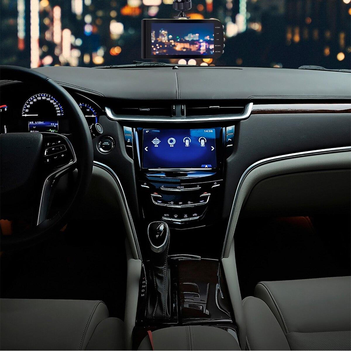 A23 1080P HD Dual Lens Car DVR 4 Inch LCD Video Dash Cam Recorder Night Vision G-sensor
