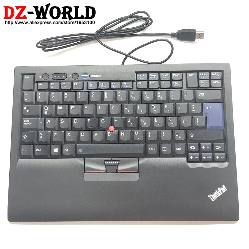 New Original for Lenovo Thinkpad Latin American Spanish USB Keyboard SK-8855 Compatible with All Laptop Computer Models 03X8475 эротическое белье женское avanua celia цвет черный 03574 размер s m 42 44