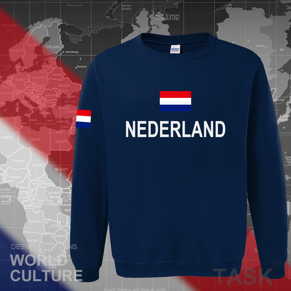 Netherlands Nederland 2017 hoodies men sweatshirt sweat new streetwear clothing jerseys tracksuit nation Holland flag Dutch NL 2