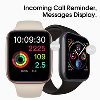 New GPS IWO 9 IWO 8 Smart Watch Bluetooth Smartwatch Sports Case Heart Rate Pedometer 1:1 For Apple Watch Series Android