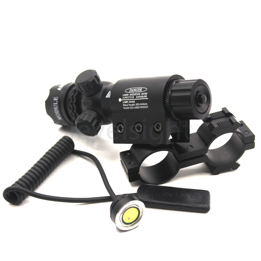 Optics Laser Sight Scope Red Laser Beam with Wrenches For Hunting Sports