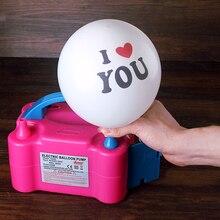 Электрический шар воздушный насос низкая цена Электрический насос воздушный шар новинка 2016 Портативный аккумуляторная шар насос