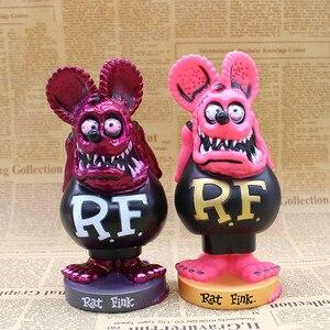 Image 4 - Rat Fink BIG DADDY Bobble หัว PVC Action Figure ของเล่นสะสม 16 เซนติเมตร