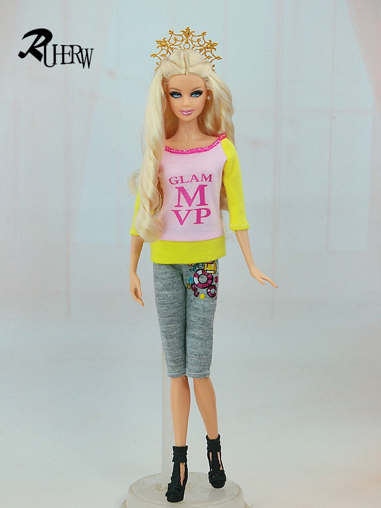 5-Pcs-Handmade-fashion-clothes-For-Barbie-Doll-dress-baby-girl-birthday-new-year-present-for-kids-3