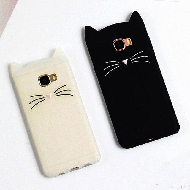 Cute Cat Case For Samsung Galaxy J
