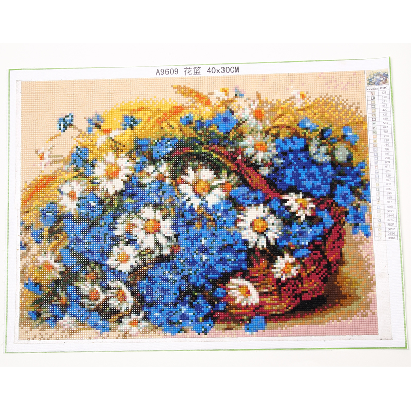 YOGOTOP DIY Diamond Painting Cross Stitch Kits Full Diamond Embroidery 5D Square Mosaic Home Decor Red roses flowers 5pcs ML316 in Diamond Painting Cross Stitch from Home Garden