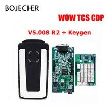 3pcs lot via DHL FREE for Wow tcs cdp Bluetooth V5 008 R2 With Keygen OBD2