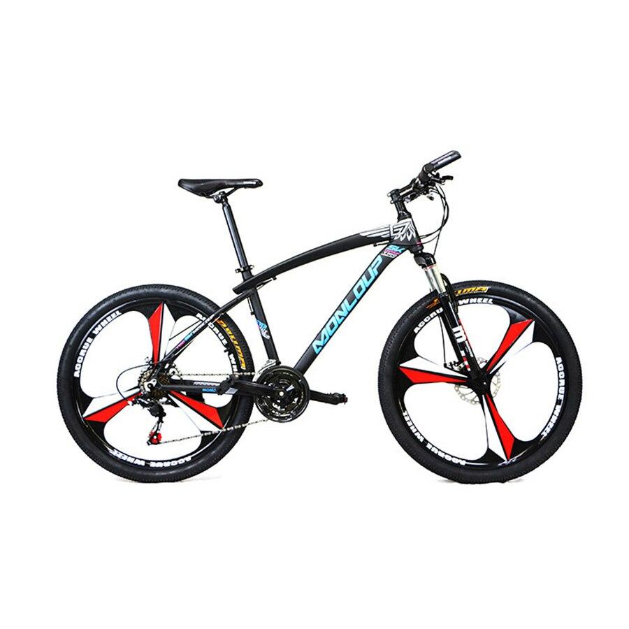 polegadas 3 raios cassete roda da bicicleta mtb freio a disco jantes