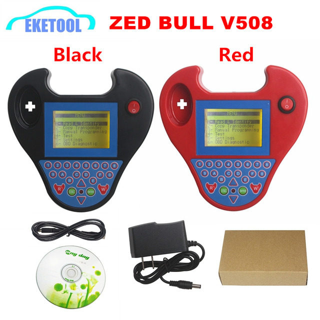 Лучшая новейшая версия V508 MINI Zed Bull программирование ключей иммобилайзер быстрая супер быстрая мини чипы для копирования ZedBull 2 цвета