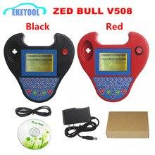최고의 최신 버전 v508 미니 zed 황소 키 프로그래밍 immobilizer 빠른 속도 슈퍼 미니 zed bull zedbull 복사 칩 2 색