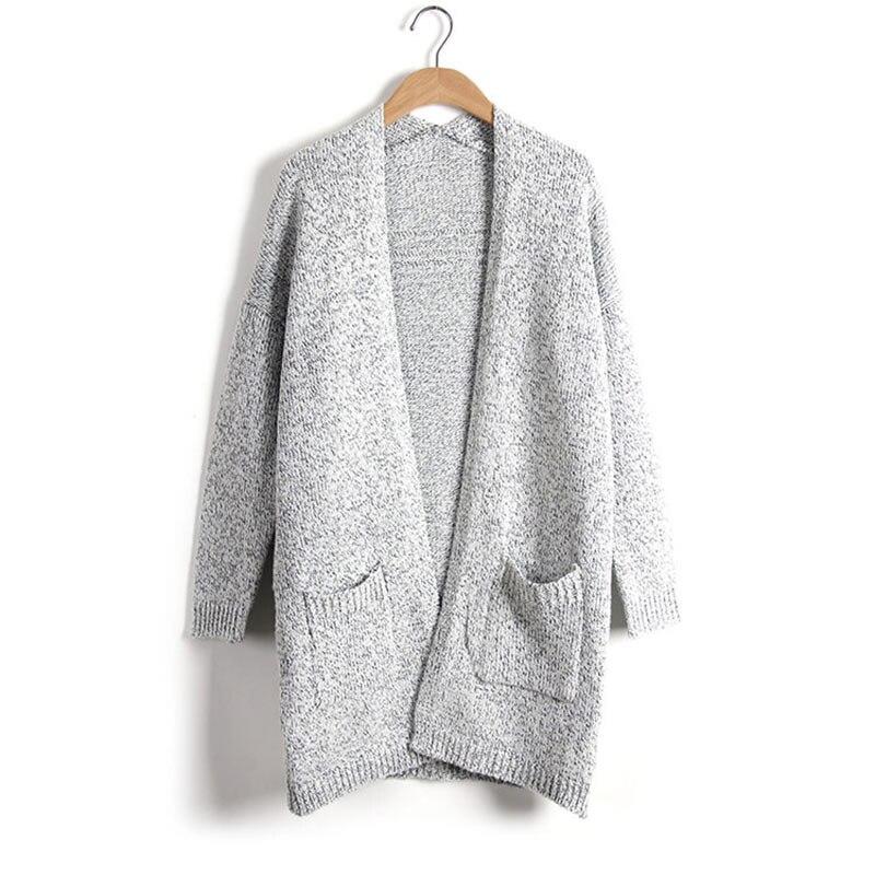 Fashion Women Knitted Sweater Casual Cardigan Long Sleeve Jackets Coat Outwear Tops Plus Size 5XL LB