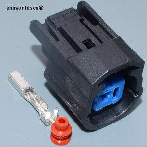 Shhworld 1Pin женский стук датчик рог вилка соединителя динамика с хвостом для Honda Fit Accord CRV Odyssey Civic 6189-0591