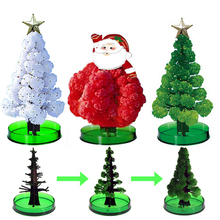 4 Colors Growing Christmas Tree Christmas Decorations For Home Santa Claus Decoration Colored Christmas Tree Christmas Gifts