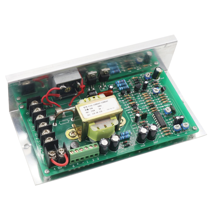 1HP governor 750W high power 220V DC motor speed control board 500W permanent magnet DC motor controller / driver цена