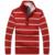 Marca Homem De Lã Fina stripend Blusas de Inverno Cashmere Gola Engrossar Homens Pullover Malhas Slim Fit Suave Hombre M-3XL