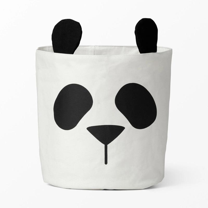 30 * 40CM Hot Cute Panda Animal Storage Basket Մանկական - Պահեստավորման եւ կազմակերպումը ի տան