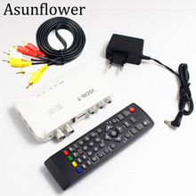 Asunflower HDMI ISDB T Digital Terrestrial TV Receiver Set Top HD Video Converter FTA TV BOX Receiver 1080P US EU UK For DVD GPS car digital tv isdb t brazil digital tv receiver for south american countries
